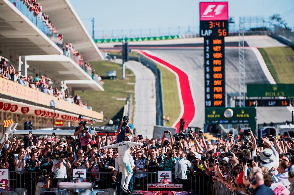 Lewis Hamilton, Mercedes.2017 FIA Formula 1 Championship, Austin, Texas, USA.