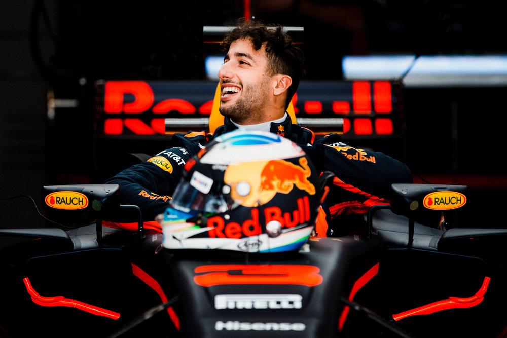 Daniel Ricciardo, Red Bull. 2017 FIA Formula 1 Championship, Austin, Texas, USA.