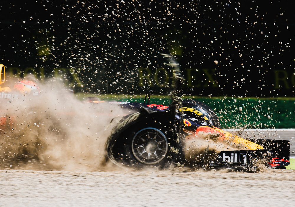 Max Verstappen, Red Bull. 2017 FIA Formula 1 Championship, Monza, Italy.