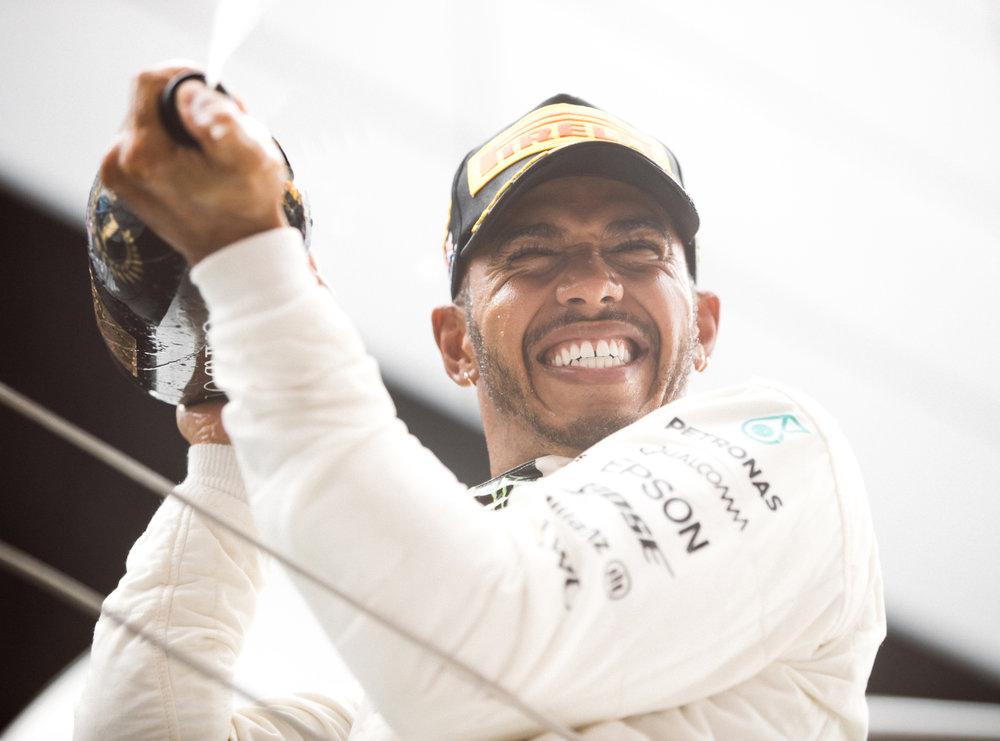 Lewis Hamilton, Mercedes. 2017 FIA Formula 1 Championship, Silverstone, UK.