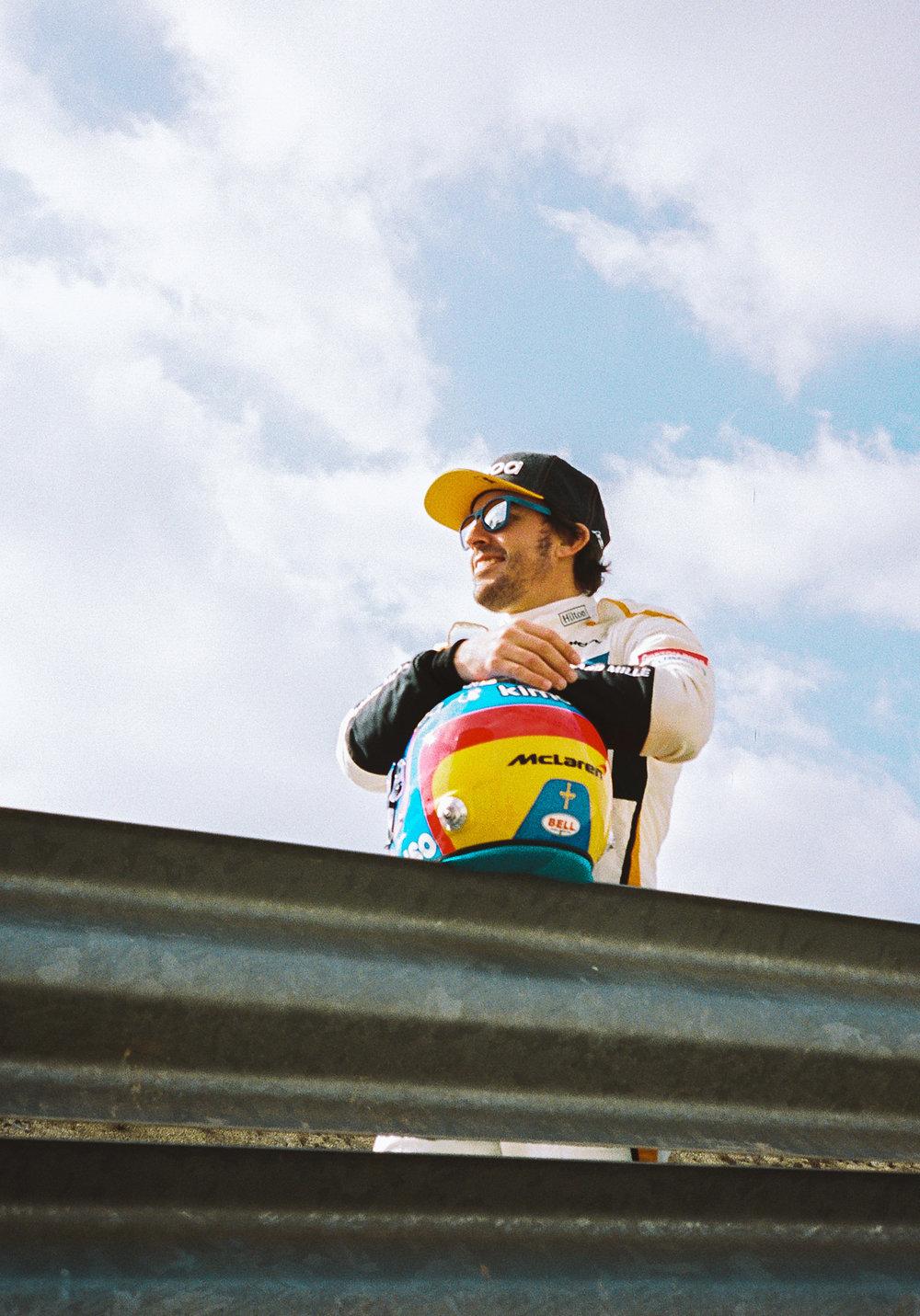 Fernando Alonso, McLaren. 2018 FIA Formula 1 Championship.
