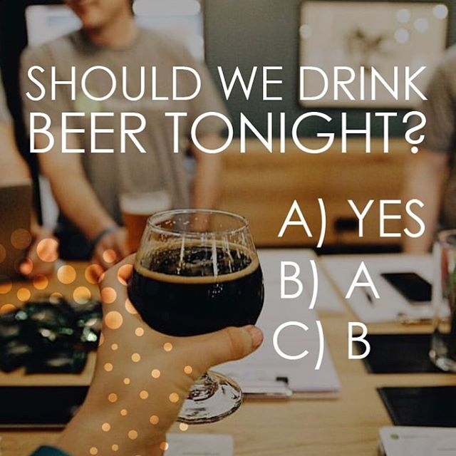 🤔 😂 YAS! 🍻  #HappyHour 5PM  Let's celebrate!