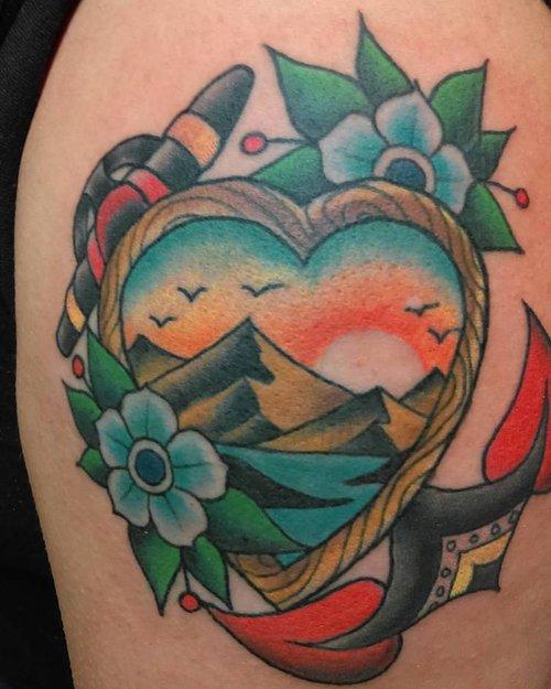 6f0fc62bb PAUL TEVES — Blue Iris Tattoo
