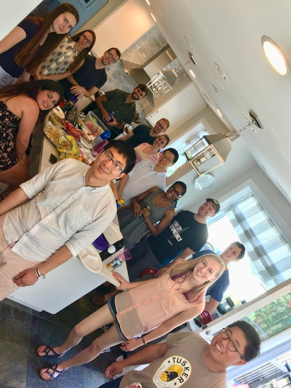 July, 2018 - 2nd annual Yi/Gabel labs summer BBQ