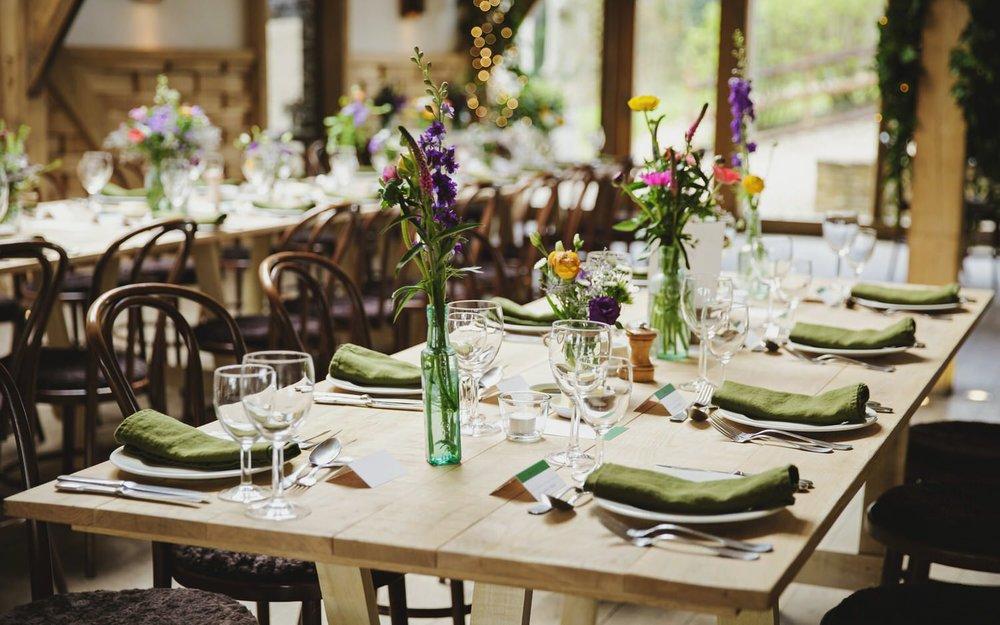 MM405c Cripps Barn-wedding venue-trestle tables-Gemma Williams (2).jpg