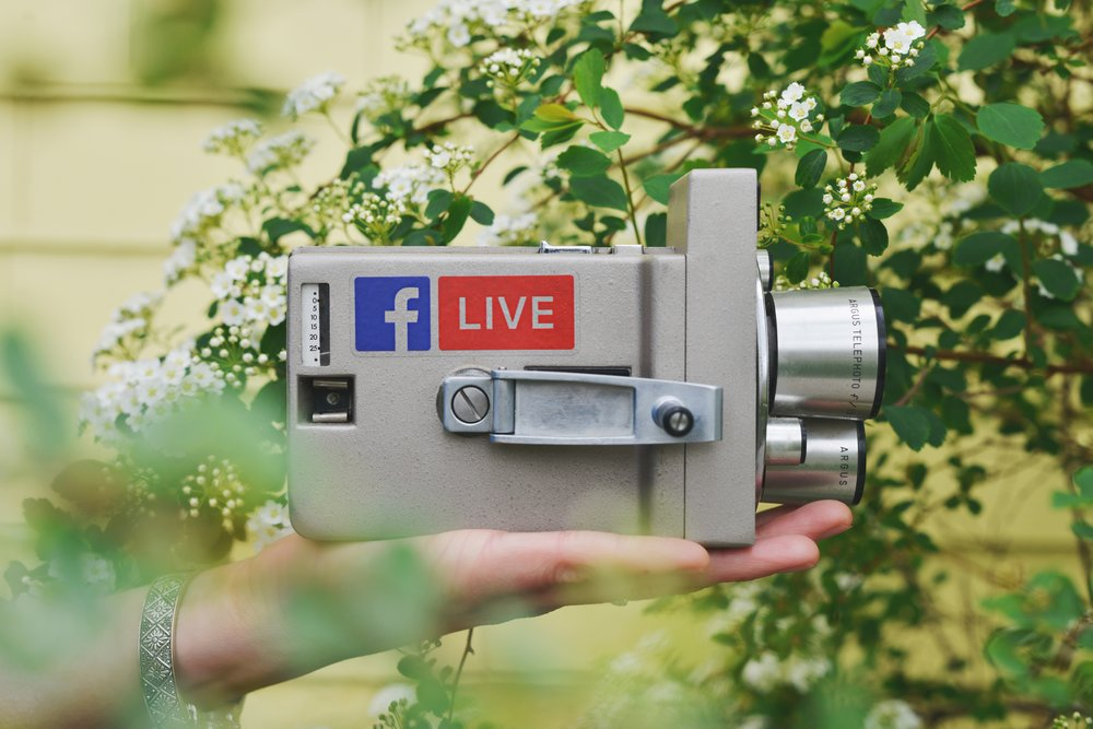 From TV to FB Live...