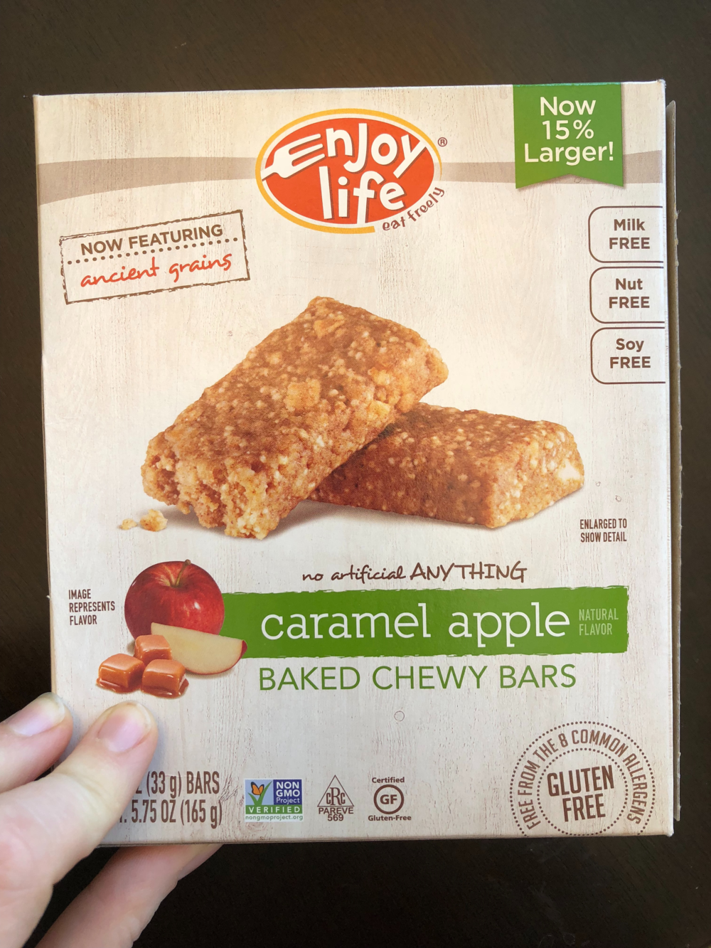 Not an ad. We just really love and trust their products. These granola bars are really good!