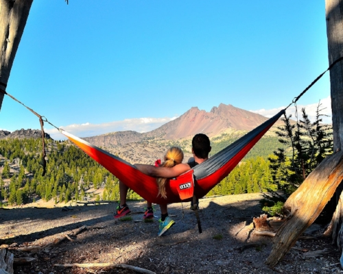 A HAMMOCK   $60 from  REI