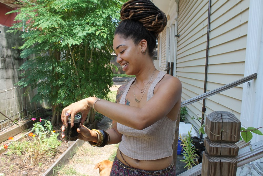 Black People with Plants_Gypsi_Collection of Collections_New Orleans Gardens.jpg