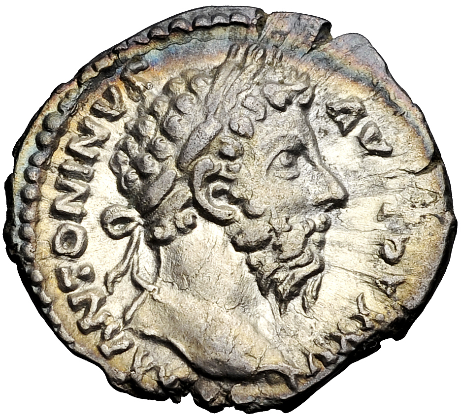 The morality of charging interest on loans was debated even in Ancient Greece and Rome. - Image: coin depicting Roman Emperor Marcus Aurelius