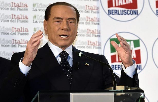 The 81 year-old Silvio Berlusconi is currently banned from holding public office, but nevertheless leads the right-wing coalition that is currently polling in first place.