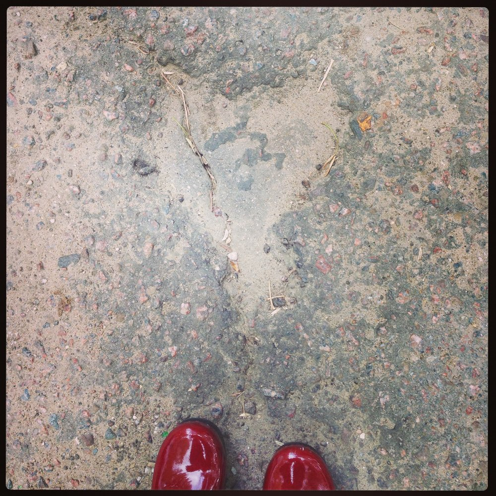 My first found heart. Moscow, Russia September 11, 2013