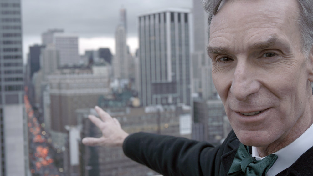 #4 - Bill Nye in BILL NYE SCIENCE GUY, a PBS Distribution release. Photo courtesy of David Alvarado/Structure Films