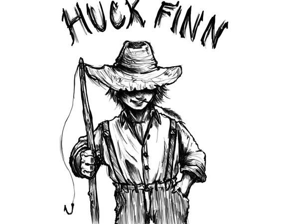 Image result for huck finn