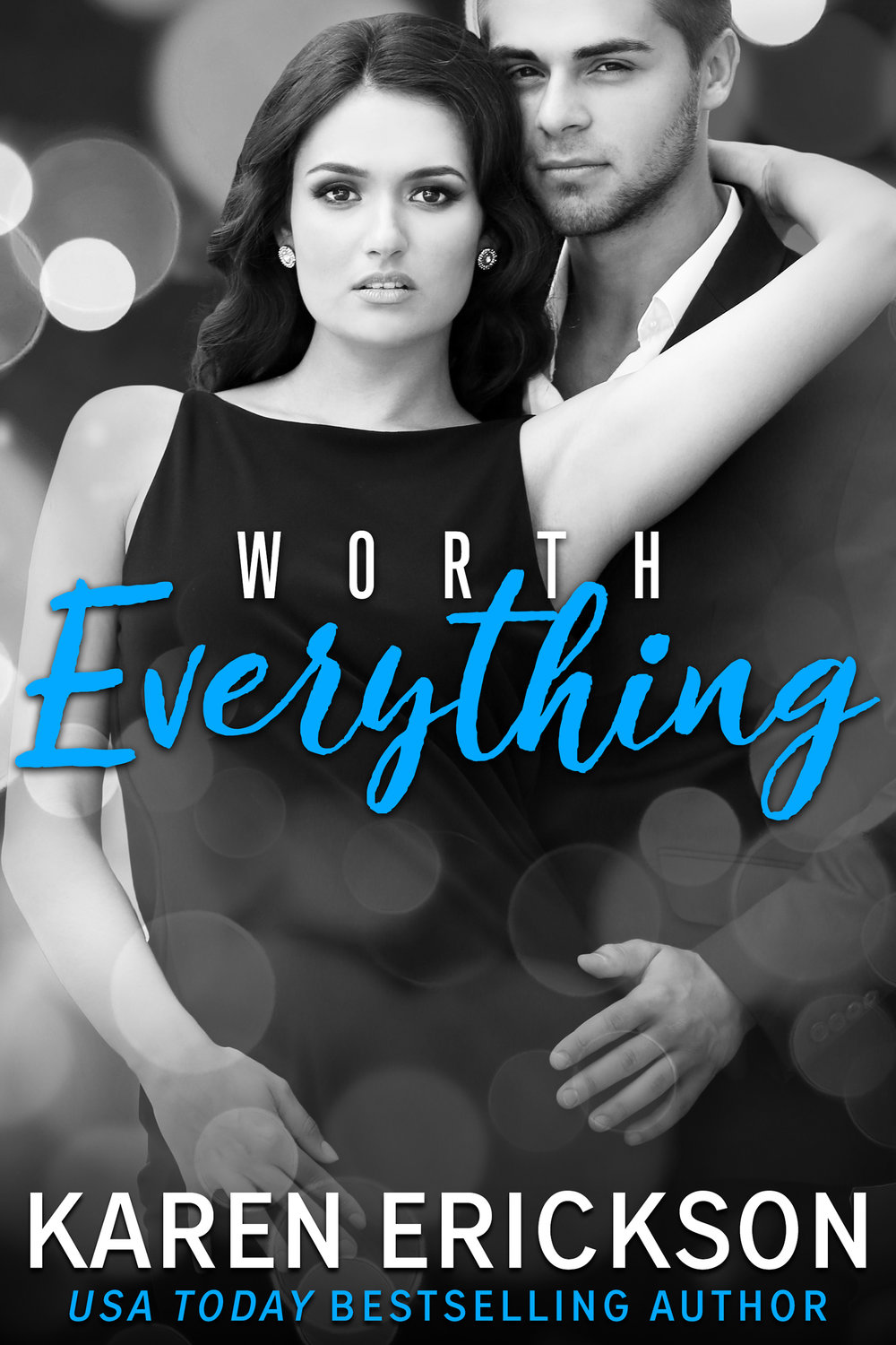 Worth Everything - Worth It, Book 4Amazon • B&N • iBooks • Kobo • GooglePlayCan you find love when you no longer know who you are?Anastasia Renaldi's life is a lie. In one fell swoop, she loses her job, her family, and her very identity. Can she truly be the illegitimate daughter of the long-dead Michael Worth?Attorney Gavin Westmore knows two things—how much Worth Luxury Goods is worth, and that his new client is a gold-digger. But as long as he can collect his fee, what does he care how calculating and devious she is?After numerous meetings that turn into late nights that turn into even more, he starts to uncover the hurt and confused woman Stasia is underneath. If part of this company rightfully belongs to her, he has no doubts she'll be a valuable asset.But once they're done untangling the web of deceit that brought them here, will there be any room left in her life for love?Amazon • B&N • iBooks • Kobo • GooglePlay