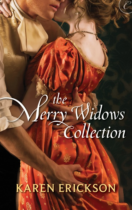 "The Merry Widows Collection - The Merry WidowsAMAZON • B&N • IBOOKS • KOBO • BAM • GOOGLePLAYEnter a sinfully wicked world where three daring women encounter sexy rakes in these erotic adventures… In Lessons in Indiscretion, widowed Lady Julia Renwick pursues the much younger Earl of Bedingfield and is shocked to discover she has much to learn from him when it comes to passion. In Her Christmas Pleasure, Damien Morton secretly craves the love of his best friend's widow, Lady Danver, until a stolen kiss under the mistletoe ignites a desire they can no longer deny. In A Scandalous Affair, widowed Lady Pomeroy sets out to seduce the mysterious Marquess of Hartwell, deemed ""Black Hart"