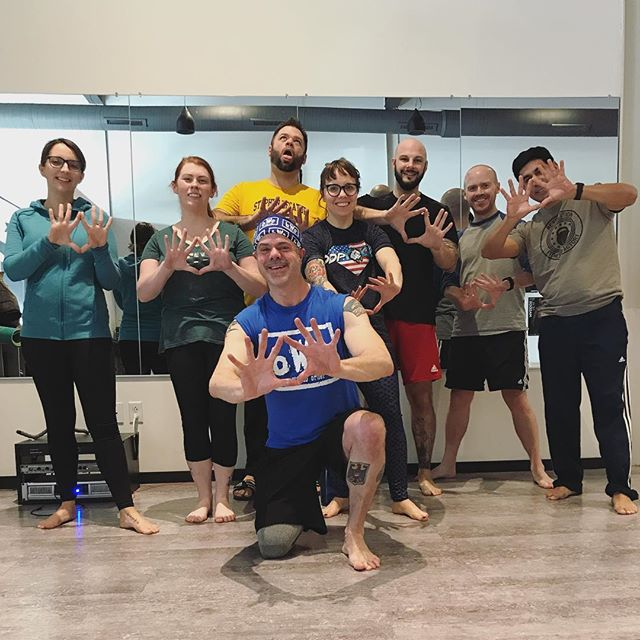 Today's class was INTENSE!! 💪🏼🔥 You know it's ALWAYS a good time with @dave.orth! What are you doing? What are you waiting for? COME JOIN US! FIRST CLASS FREE! Wed @ 7:45pm and Sat @ 8:45am!