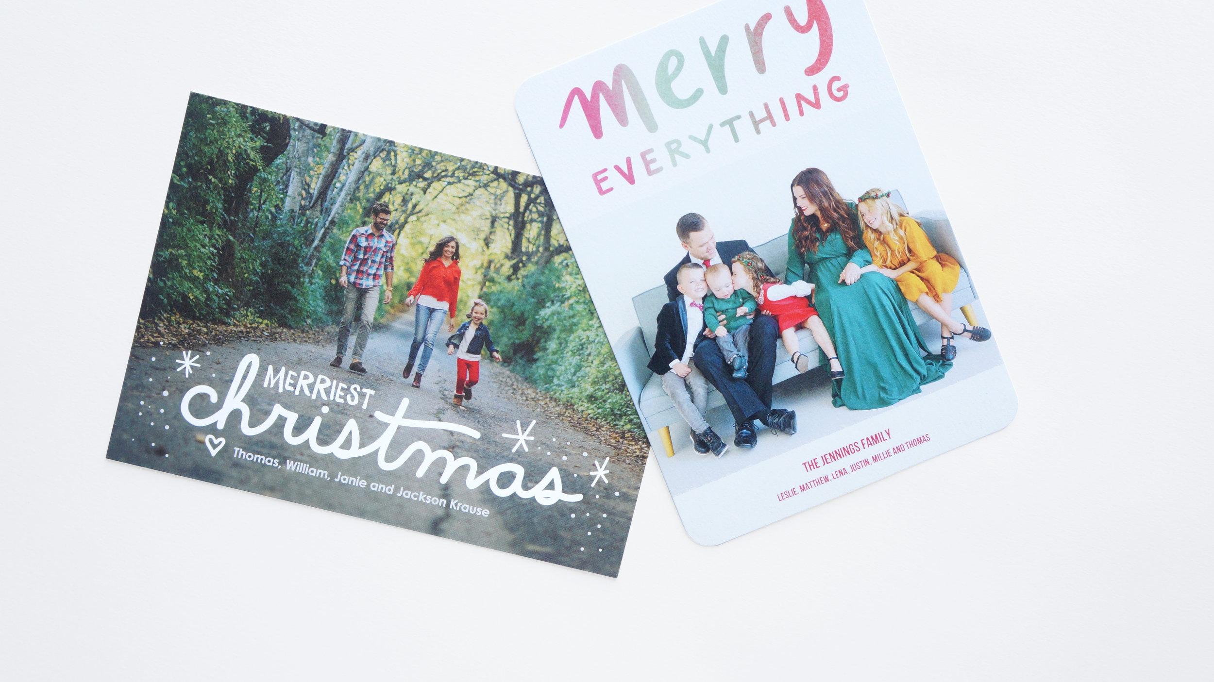 Holiday Cards — Robyn Miller Design