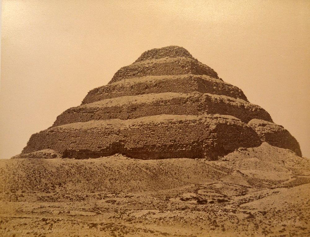 pascal sebah pyramide de Sakkarah a.JPG