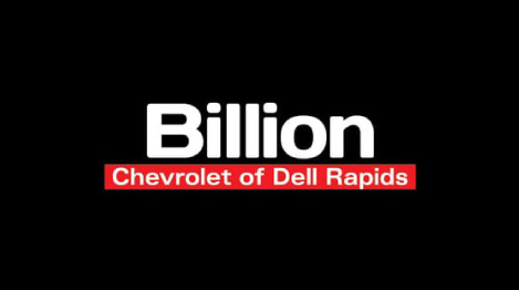 BRONZE LEVEL SPONSOR  Billion Chevrolet of Dell Rapids is located just west of town and roughly 15 minutes north of Sioux Falls. Learn more about Billion by visiting their  website .