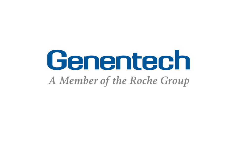 GOLD LEVEL SPONSOR     Genentech  (Gen- en – tek). Genentech is a leading biotechnology company that discovers, develops, manufactures and commercializes medicines to treat patients with serious or life-threatening medical conditions. They also just released the game-changing drug for MS called Ocrevus (Oak-re-vos).