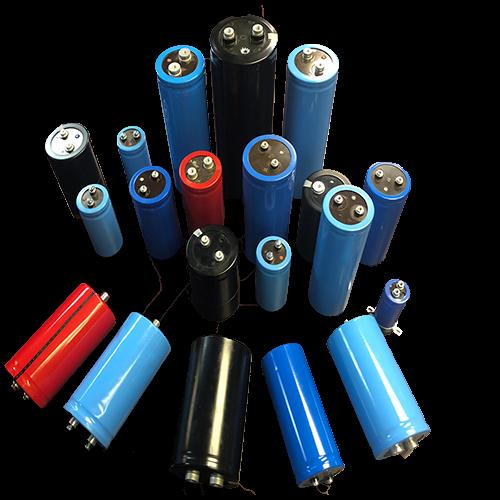 Specialty DC capacitors