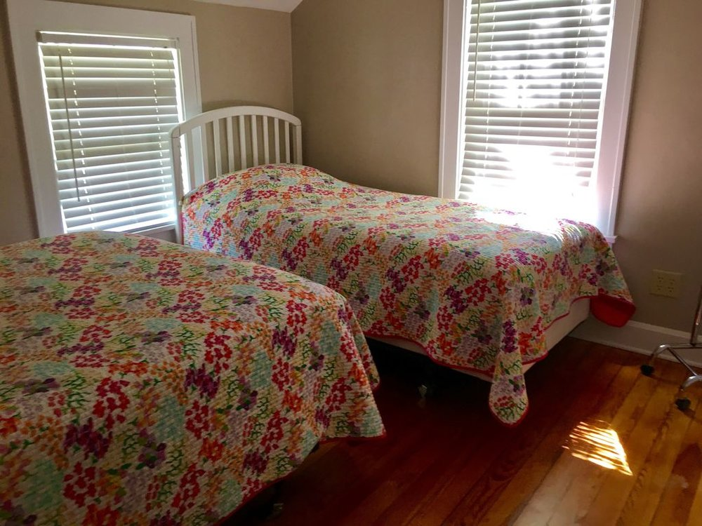 2nd floor- 3rd bedroom- sleeps 3