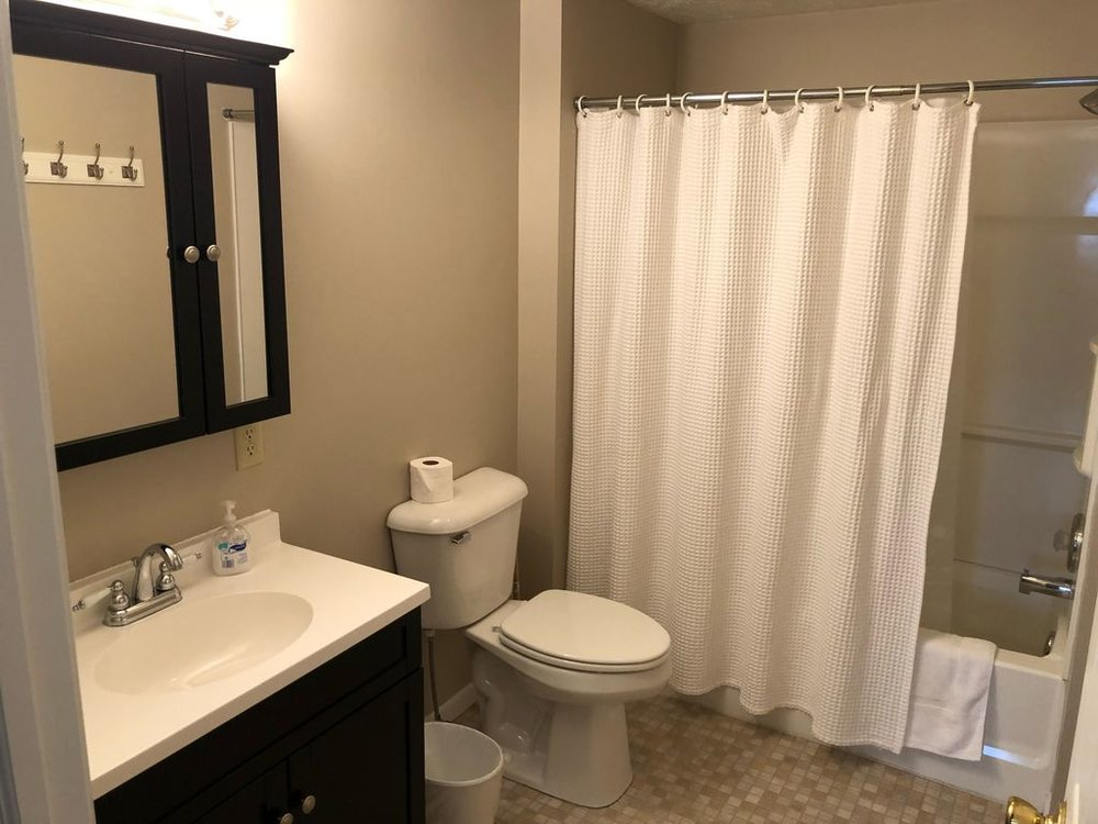 1st floor- 1st full bathroom