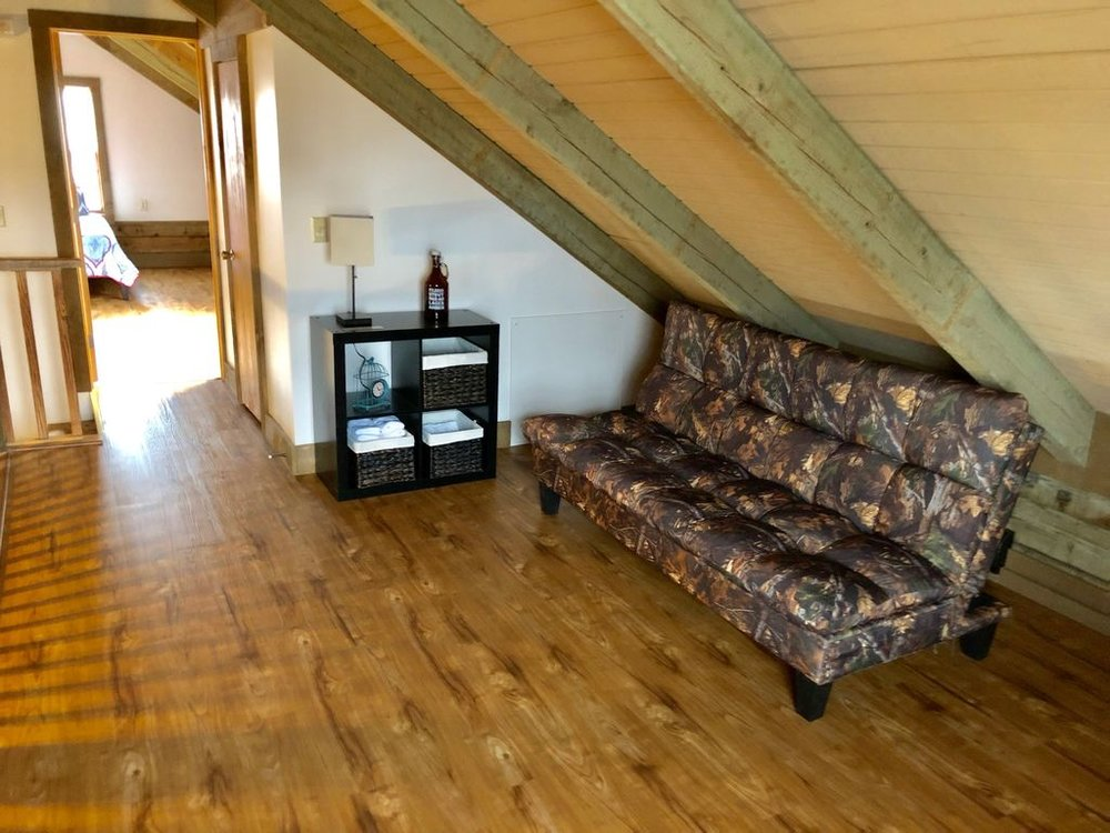 Loft with futon