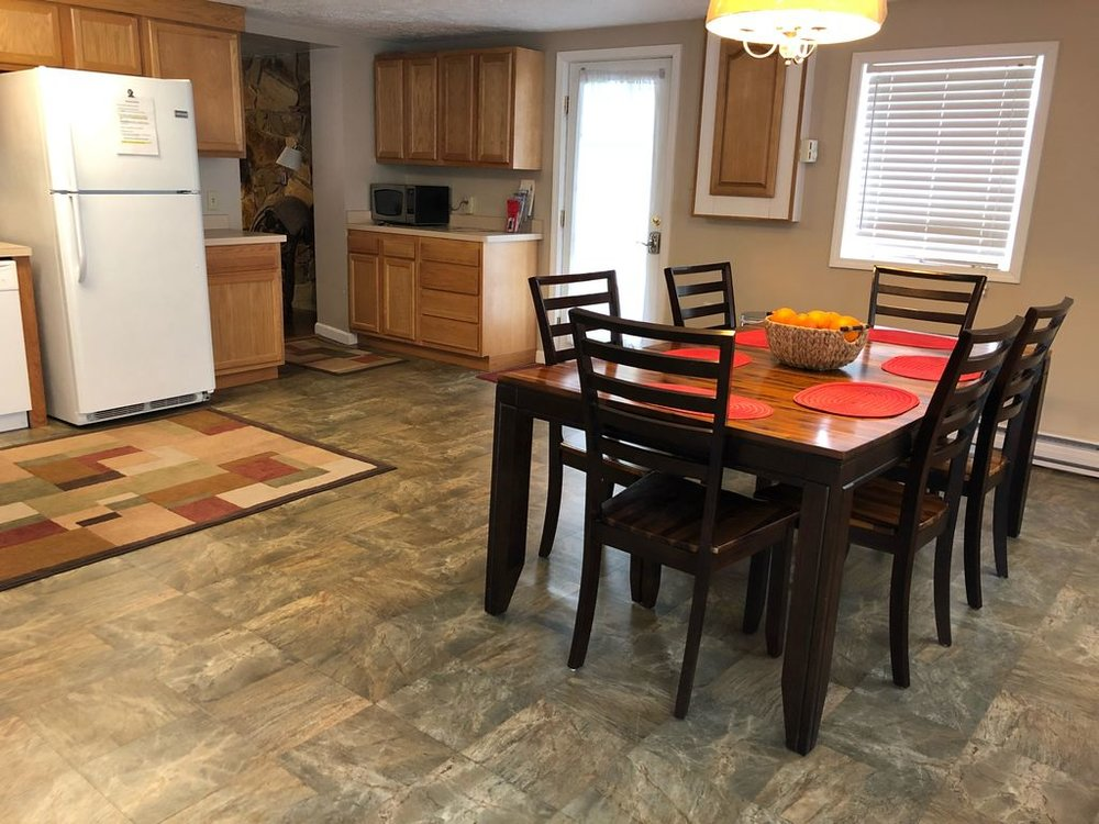 Kitchen table seats 7