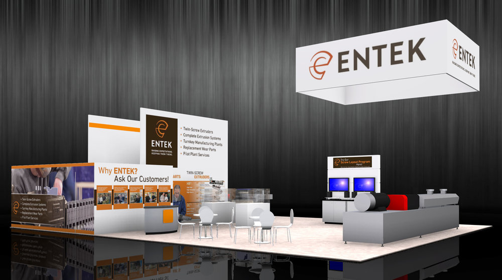 ENTEK 40 x 50 display - NPE 2018