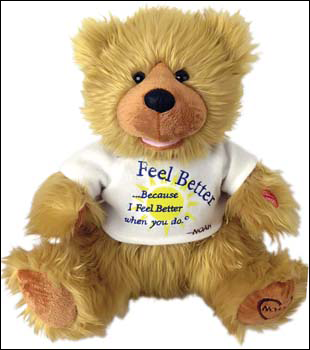 Feel Better Noah Bear