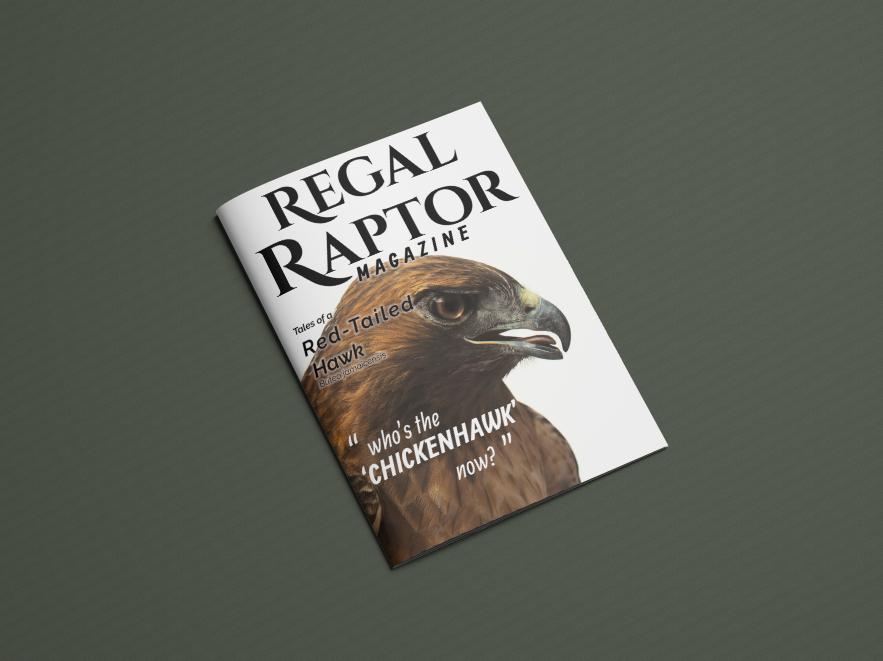 Front cover of  Regal Raptor