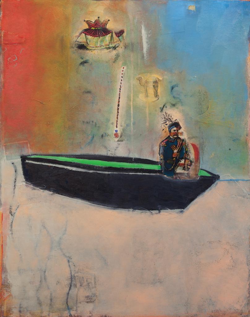 Float, 2015, 30 x 39