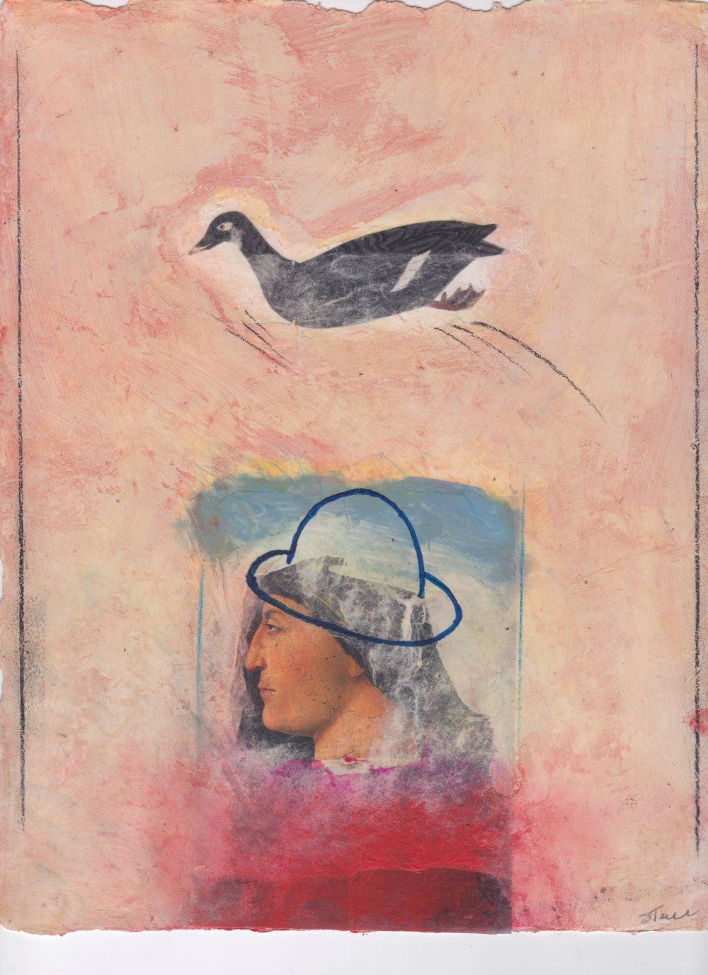Piero, 2016, 12 x 16, paper