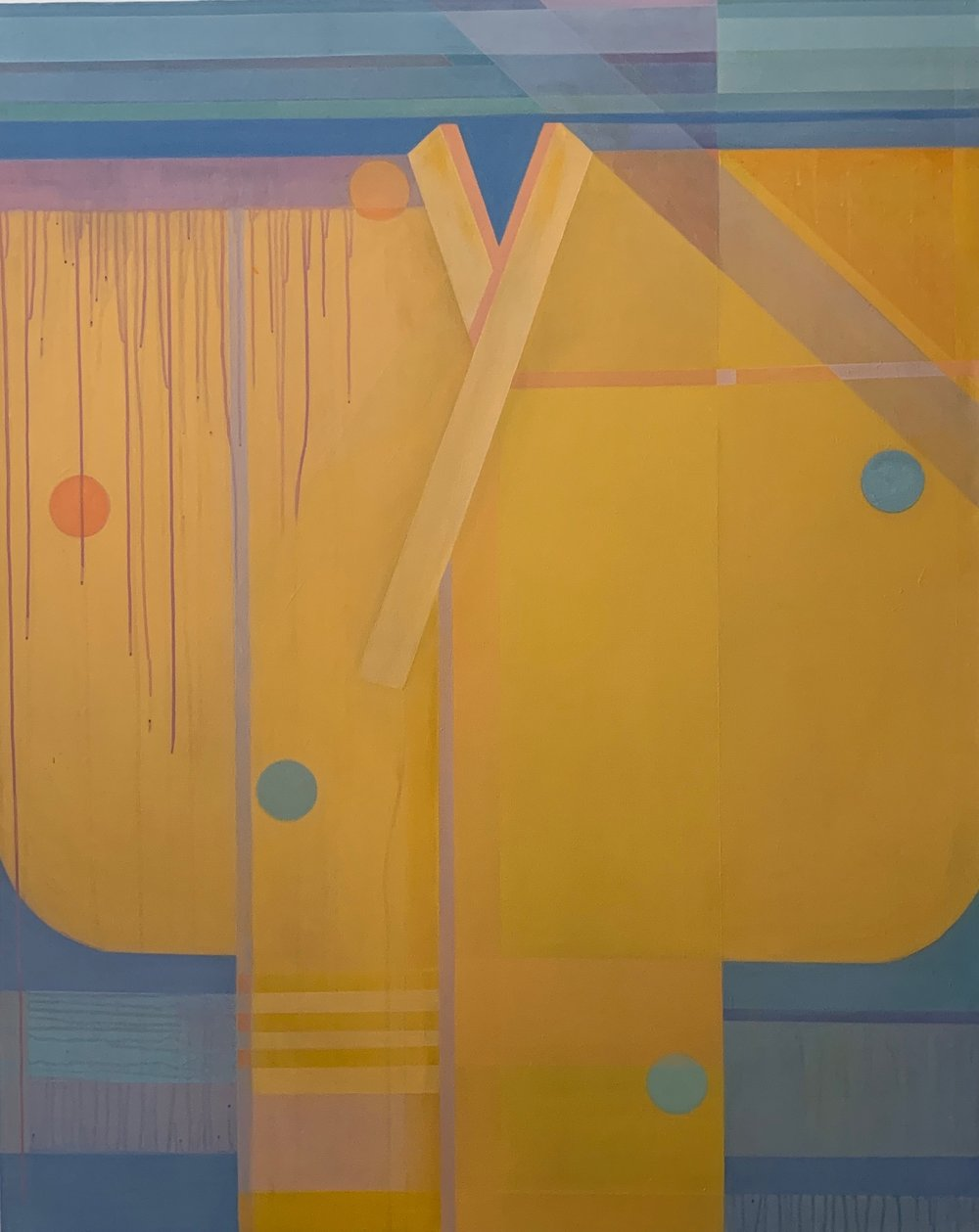 """- """"DOUBLE YELLOW""""SPRING/SUMMER 2019 JURIED SHOWEXHIBITION DATES: June 15 – July 31, 2019ARTISTS RECEPTION: June 22, 2019, 4-7 pmDEADLINE: May 24, 2019JUROR: Candace Loheed"""