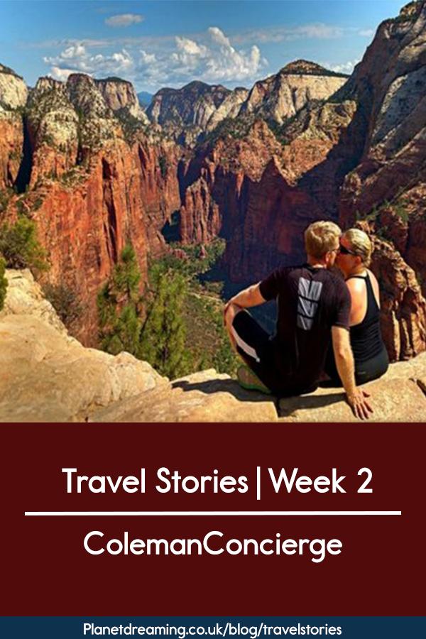 Travel stories week 2