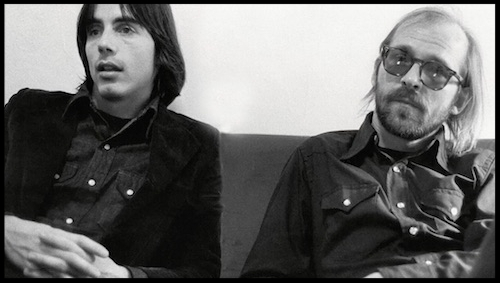 Paul and Jackson Browne, 1972 (photo by Bud Scoppa)