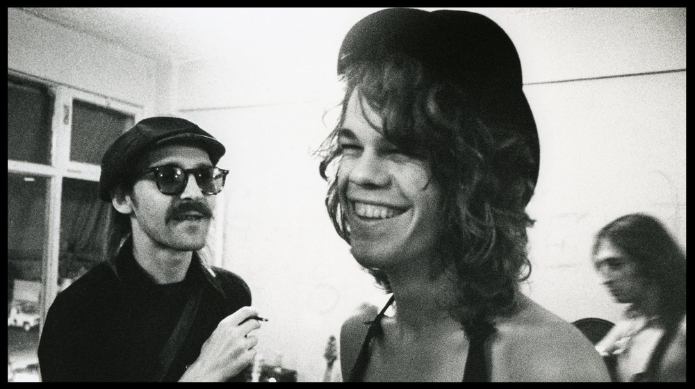 Paul and David Johansen, 1973 (photo by Bob Gruen)