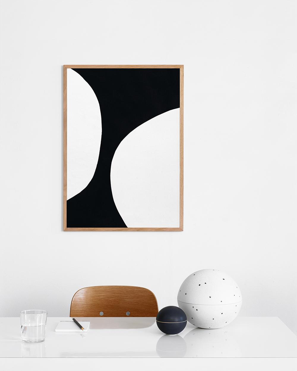 Photo Noir Et Blanc Design noir et blanc: circles ii — design cove