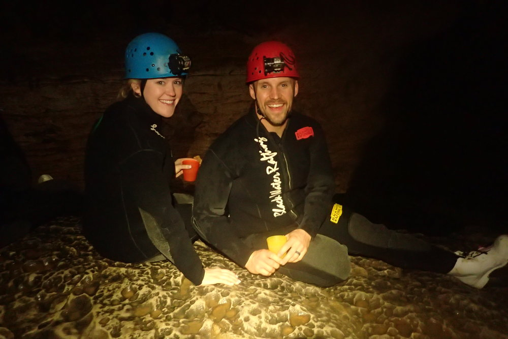 hayley renee smith_waitomo glowworm caves_snack.JPG
