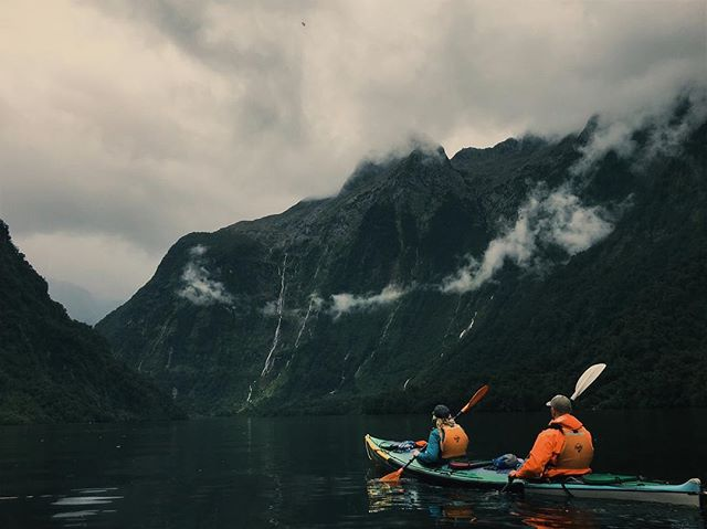 Last up on New Zealand travel series: overnight kayaking through doubtful sound. One of the most beautiful places I've ever been ✨ Link in bio!
