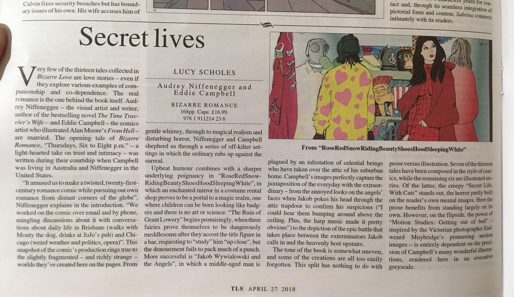 Times Literary Supplement, April 27, 2018.