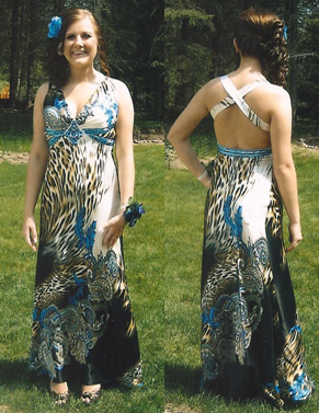 """Sylvia did an amazing job at altering my dress for the prom.""  -Shelby"
