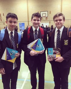 3 future Year 10 UTC Portsmouth students