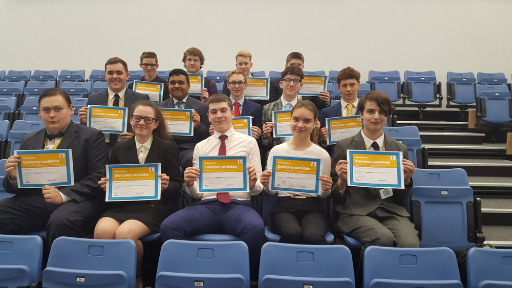 Well done to all our exemplary candidate certificate winners; Bethany O'B, Cormac T, Phoebe B, Patricia R, Tyler P, Callum T, Thomas C, Oli H, Piriyan K, Theo D, Oliver L, Sam B, Joshua T, Joseph R, Sam C.