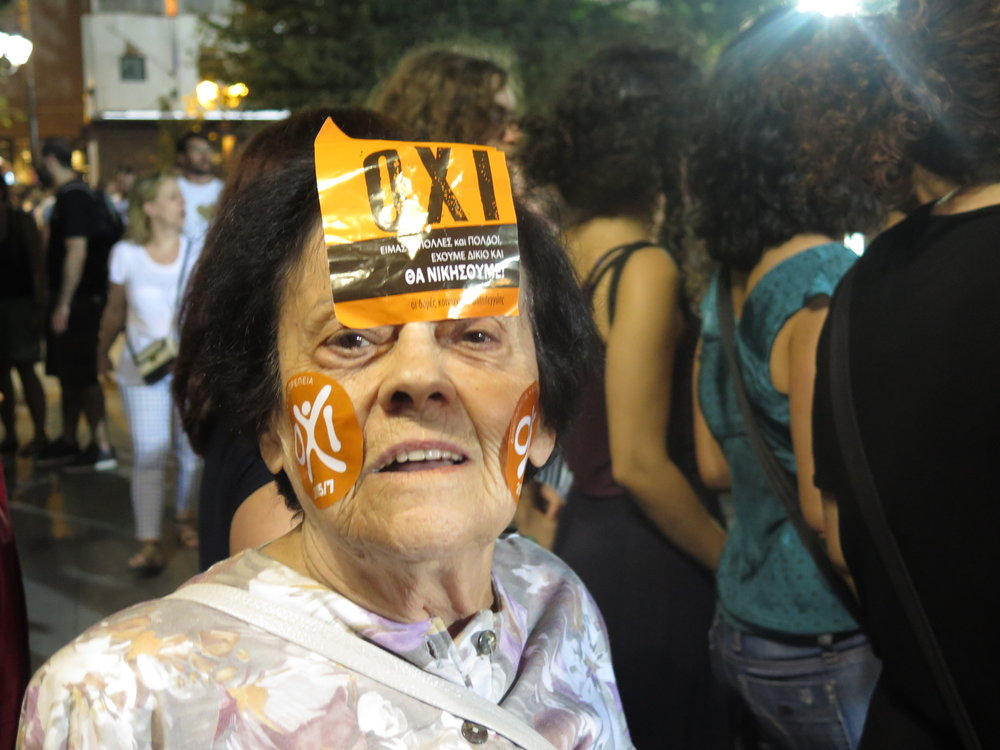 Athens, Greece, Austerity Referendum. 2015