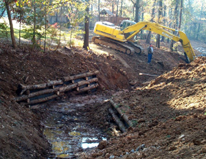 Stream Clean Out and Bank Stabilization