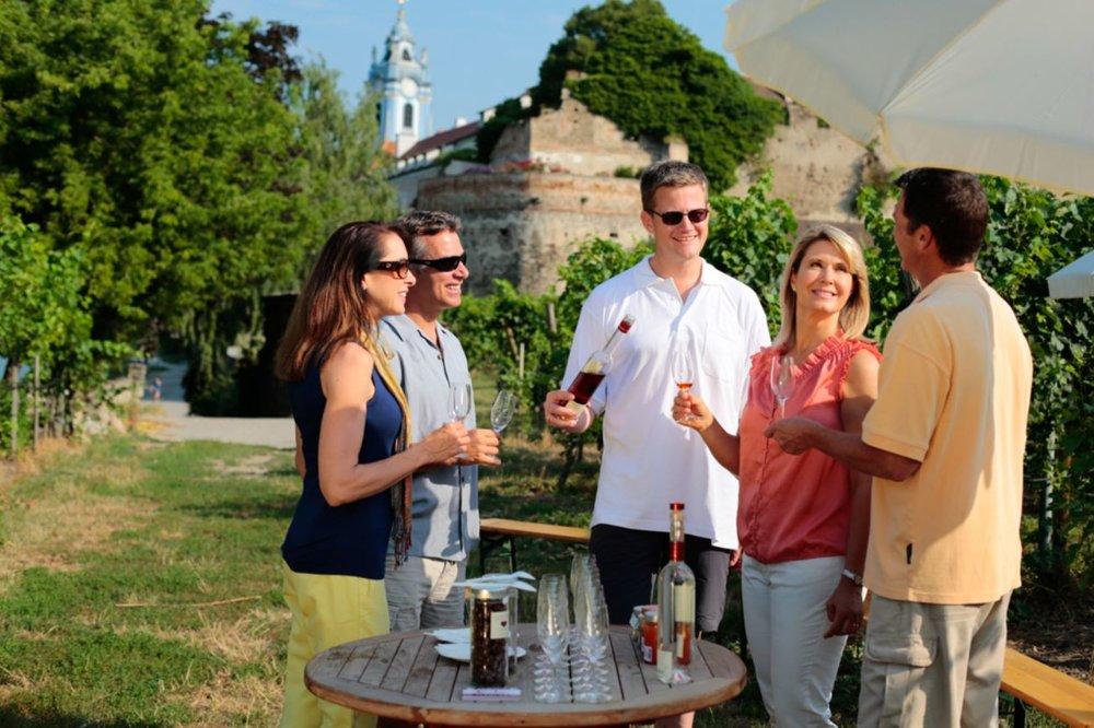 Optional wine tasting in Dürnstein