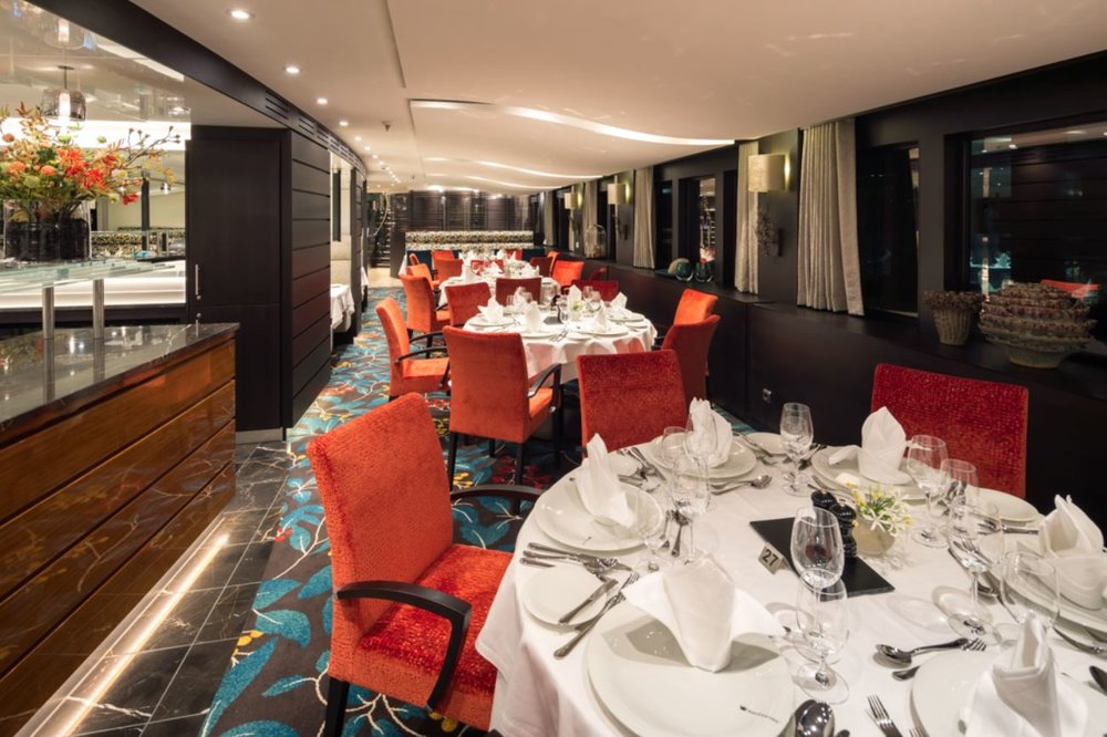 Main Dining Restaurant - offering regional specialties using locally sourced ingredients